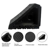 Car Anti slip Block Rubber Auto Tyre Slip Stopper Control Wheel Alignment Block Tire Support Pad Car Tool Accessories