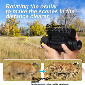 Image 5 - Bestguarder WG 50 Plus Night Vision Telescope with Wifi Function IR Monocular Wildlife 6x50mm Hunting Infrared 850NM HD Camera