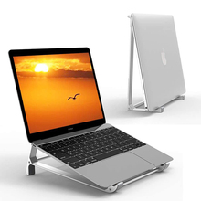 Laptop Stand Desk Aluminum Vertical Holder For MacBook Air Pro Surface Dell XPS HP 13