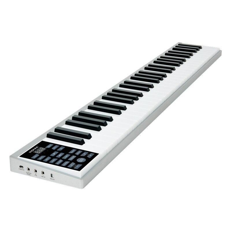 Free Shipping Electronic Key Intelligent 61 Key Piano Handbook Teclado Musical Portable Electronic Piano Professional Midi