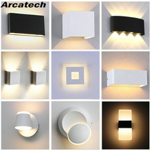 Modern Home Sconce Lighting-Decoration Wall-Lamp Bath Indoor-Lighting LED Corridor AC85-265V