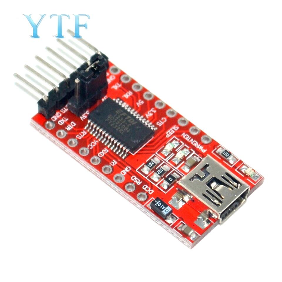 FT232RL USB To TTL Serial Converter Adapter Module 5V And 3.3V For Arduino Hot Worldwide