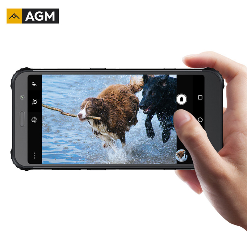 Original AGM A9 4G+32G Android 8.1 Octa Core Rugged 5.99