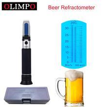 Cerveja refratômetro brix 0 32% wort 1.000 1.120sg com atc para cerveja homebrew refratômetro medidor de açúcar cerveja cerveja cerveja cerveja vinho brix
