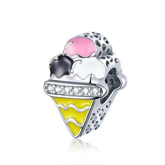 Couple Little Girl Boy Pineapple Food Avocado beads Charm Charms Gem Color: ECC1129