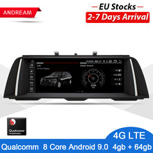 "Andream Android 9,0 GPS Navigation Auto Auto Radio Multimedia Player Für BMW Serie 5 F10 F11 F18 Qualcomm 8 Core IPS 10.25""(China)"