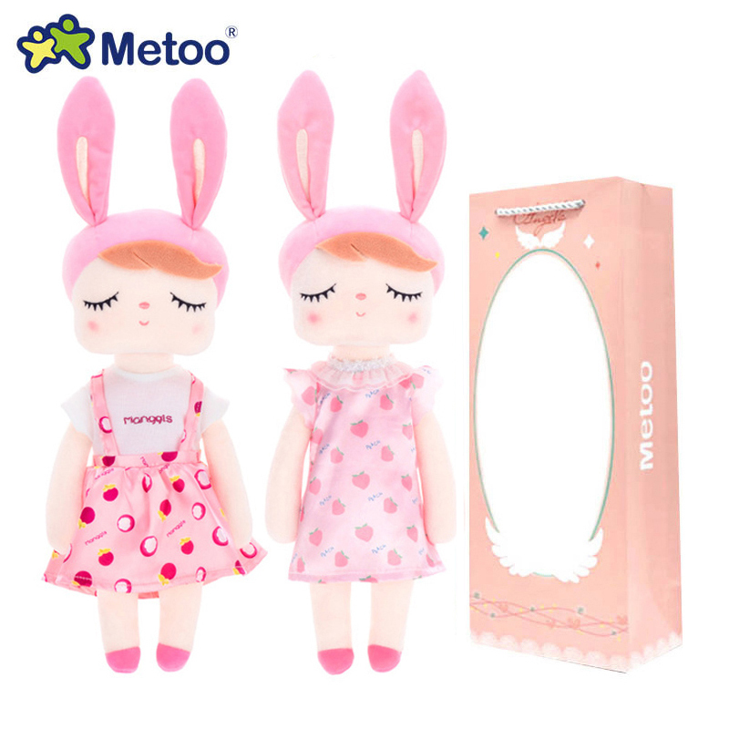 【New Boxes】Newest Metoo Doll Soft Plush Dreamy Toys For Girls Baby Cute Cartoon Rabbit For Kids Christmas Birthday Gift