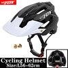 BATFOX Homens Capacete Da Bicicleta Capacete de Mountain Bike XC TRAIL MTB Ultraleve Capacete Estrada Integ-Moldado cruz Ciclo Ciclismo BMX capacete 8
