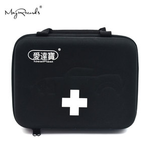 Image 1 - Idealplast First Aid Empty Kit Bag for Travel Camping Sport Medical Car Emergency Survival Outdoor (Black)