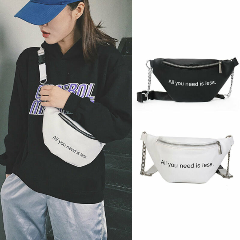Women Waist Fanny Pack Belt Bag Travel Hip Bum Bag Small Purse Chest Pouch NEW  /BL1