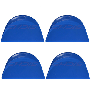 Image 4 - Ehdis 4Pcs Auto Folie Film Wrapping Zuigmond Window Wassen Verven Zachte Schraper Koolstofvezel Decal Sticker Spatel Huis Schoon gereedschap