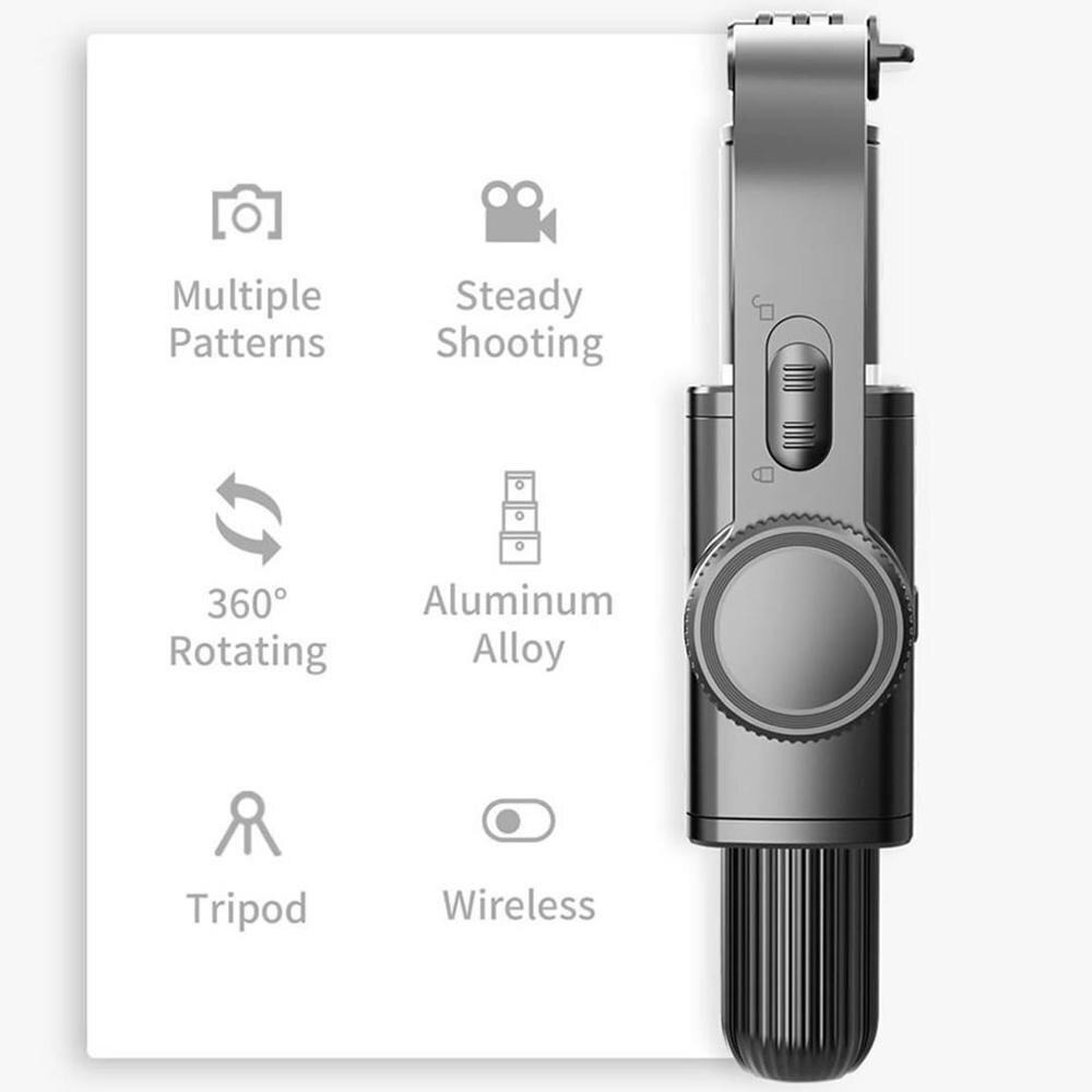 Bluetooth 40 селфи палка штатив анти встряхивание ручной gimbal