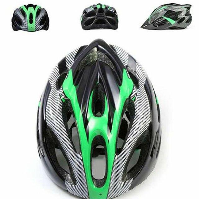 Capacetes ajustáveis de bicicleta, capacetes de ciclismo preto fosco para homens e mulheres, mountain bike e de estrada, totalmente moldados em 6 cores 5