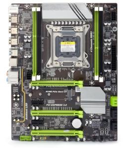 Image 2 - Atermiter X79 ターボマザーボード LGA2011 atx コンボ E5 2690 cpu 4 個の x 8 ギガバイト = 32 ギガバイト DDR3 ram 1600 mhz PC3 12800R pci e nvme M.2 ssd