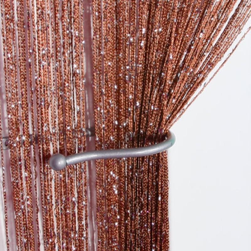 Permalink to 1 Panel Door String Curtain Fly Screen Room Divider Fringe Window Glitter Lot