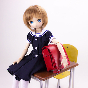 Image 2 - NEW bjd doll bag schoolbag for 1/4 1/3 MSD Red /Black Japanese Backpack exquisite bjd doll Props accessories