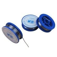 Сварочные ремонтные инструменты для электрической пайки 0,8 мм оловянный свинец канифоль ядро припой проволоки прибл. 38x11 мм содержание потока 2.0