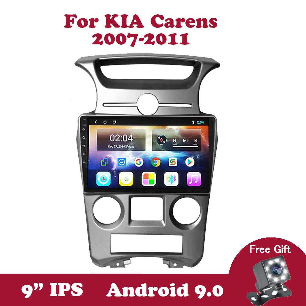 Android 9 Car Radio Multimedia Stereo Player For KIA Carens 2007 2014 DVD GPS Navigation Head Unit 4 Core 2Din No 2Din BT Wifi Car Multimedia Player    - AliExpress