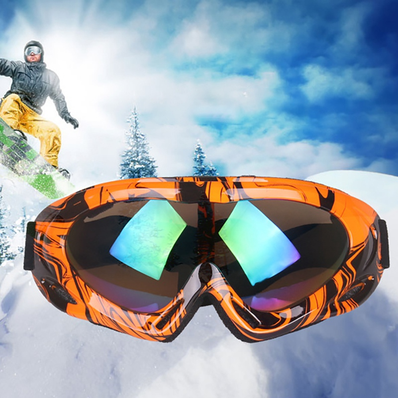New Ski Goggles Adult Child Windproof Dust-proof Adjustable UV 400 Outdoor Climbing Sports Protective Snow Glasses Eyewear New