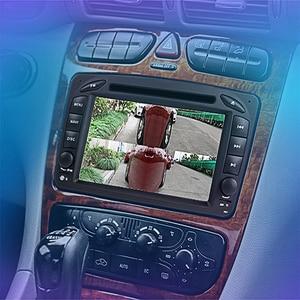 Камера Zhi Dao 6, подключается к машине, центральный экран управления, видимая система слепых зон, 4 раздельных изображения