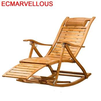 Salotto Poltrona fotel bujany Sillones Moderno Para Sala bambusowa Fauteuil Salon Cama Plegable łóżko składane leżak tanie i dobre opinie ECMARVELLOUS Nowoczesne Minimalistyczny nowoczesny BAMBOO CHINA