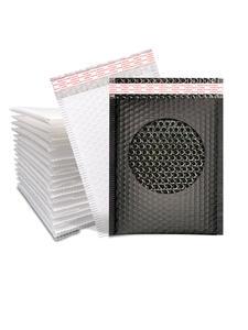 Envelope Mailing-Bag Bubble-Mailer Self-Seal Black Poly 10pcs/18sizes