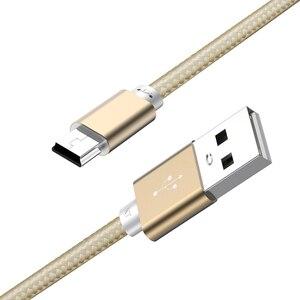 Кабель kebiss Mini USB, автомобильный регистратор с t-портом, MP3, Samsung, мобильный жесткий диск, для пожилых людей, мобильный телефон, радио, кабель для...