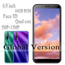 Mate20 pro mtk telefones celulares android original desbloqueado quad core smartphones 4g ram 64g rom celulares face id 6.0 phones telefones celulares