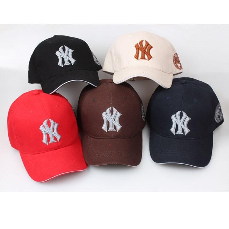 NY Three-dimensional Embroidery Dad Hat Men Women Summer Baseball Cap Visor Hip Hop Caps Adjustable Snapback Bone Gorras Hombre