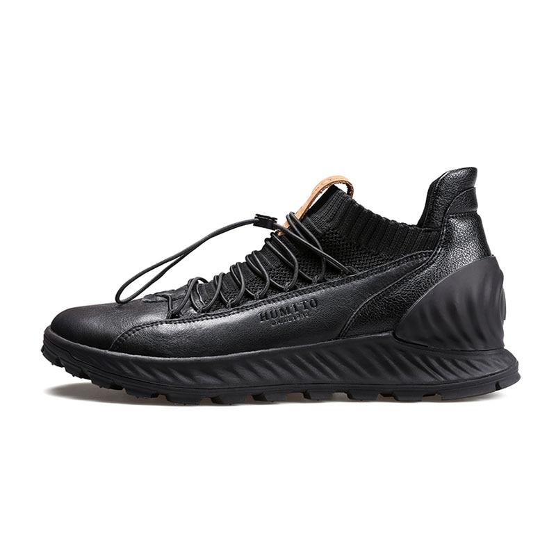 Купить воздухопроницаемый светильник обувь для бега из натуральной