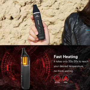Image 3 - 원래 Airistech Herbva 비바 건조 허브 기화기 키트 휴대용 전자 담배 2200Mah 배터리 세라믹 챔버 난방 Vape 펜 키트