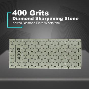 Professional 400/1000 Thin Diamond Sharpening Stone Knives Diamond Plate Whetstone Knife Sharpener Grinder Knife Honing Tools image