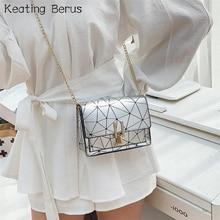 Striped Crossbody Bags For Women 2020 Summer New Designer Small Hand Bag Chain Tiny Bag Fashoin Travel Shoulder Messenger Bag