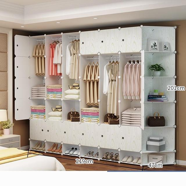 Wardrobe Credenza Storage Cabinet 5