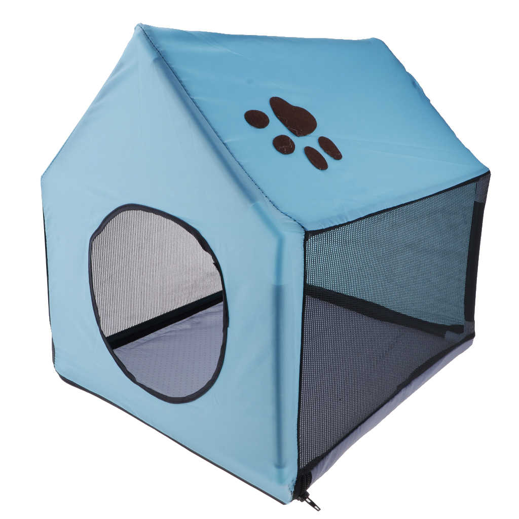 Indoor/Outdoor Kain Anjing Penampungan Dilepas Gua Rumah Anjing Rumah