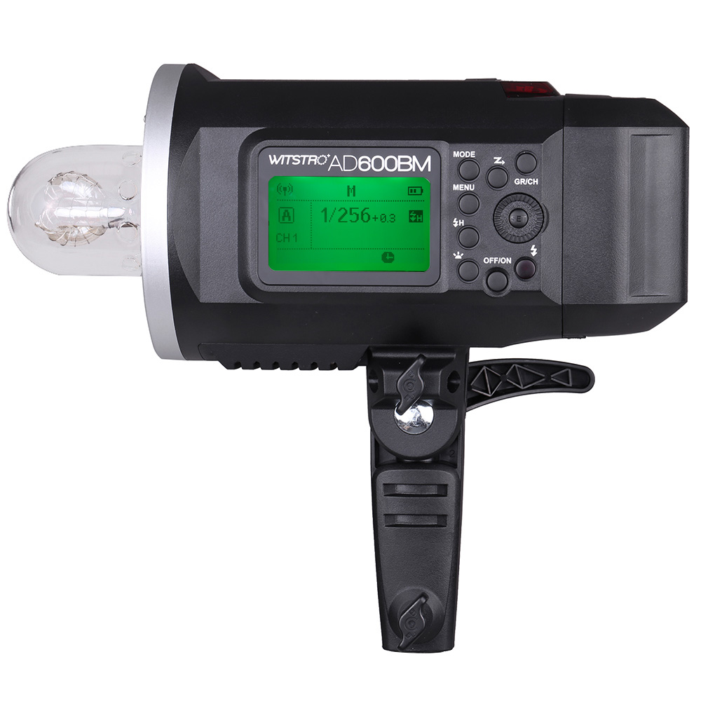 <font><b>Godox</b></font> WITSTRO <font><b>AD600BM</b></font> 600WS GN87 HSS 1/8000s Outdoor Flash Strobe 2.4G Wireless X System with 8700mAh Li-ion Battery image