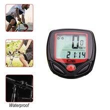 Bicicleta velocímetro à prova dwaterproof água do computador da bicicleta com lcd display digital odômetro ciclismo cronômetro acessórios da bicicleta