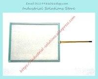 새로운 MP277-10 6AV6643-0CD01-1AX1 6AV6 643 0CD01 1AX1 터치 스크린 유리 + 마스크 1 세트