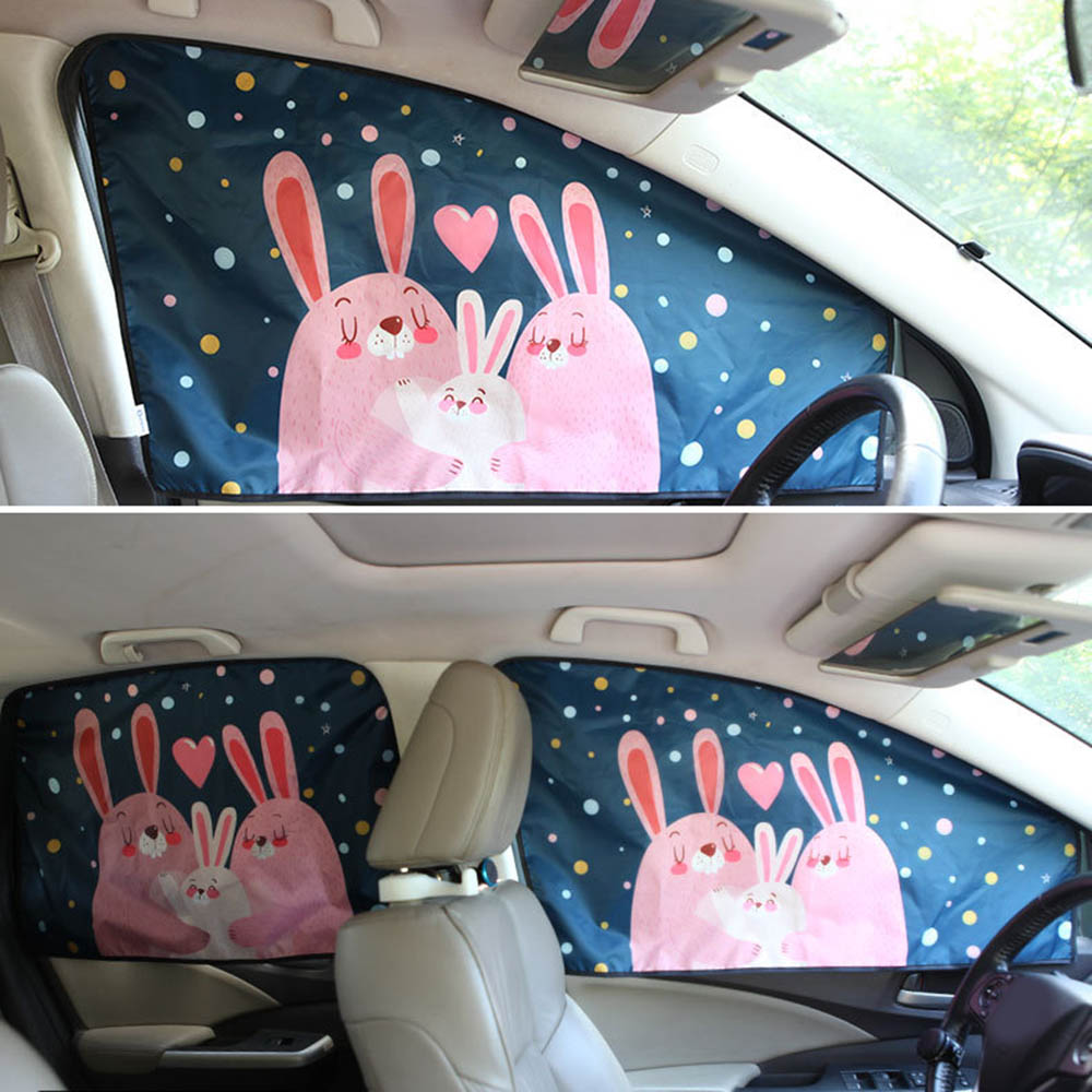Universal Magnetic Car Sunshade Cover Curtain Side Window Sun Visor Protector Universal For Baby Children