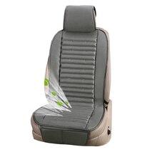 Cojín de aire de lujo para asiento de coche, 12V, con ventilador, chaleco de enfriamiento, cojín de VENTILACIÓN DE VERANO fresco