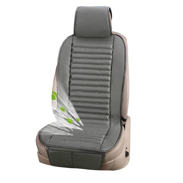 Luxury 12V Summer car seat cushion air cushion with fan seat cushion car seat cooling vest cool summer ventilation cushion