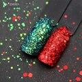 2 цвета/набор, блестки для ногтей