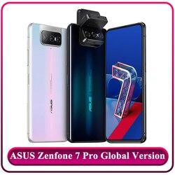 Глобальная версия смартфона ASUS Zenfone 7 Pro, 8 RAM, 256 ROM, Snapdragon 865 Plus, 5000 мАч, NFC, Android Q, тройная откидная камера, 5G телефона