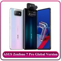 Global Version ASUS Zenfone 7 Pro Smartphone 8 RAM 256 ROM Snapdragon 865 Plus 5000mAh NFC Android Q Triple Flip Camera 5G Phone