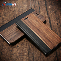 NORTHFIRE Bamboo Natural Wood Case For iPhone 11/11 Pro Max XR X XS Max 6/6S/7/8 Plus PU Leather Flip Cases ForP30 Pro Pouch|Flip Cases| |  -
