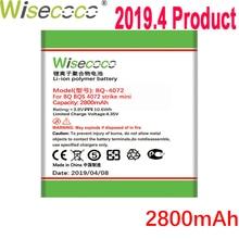WISECOCO 2800mAh Battery For BQ BQS 4072 BQ-4072 strike mini  Mobile Phone In Stock Latest Production With Tracking Number смартфон bq mobile bq 4072 strike mini red