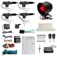 Fernbedienung Zentralverriegelung Remote Keyless Entry Sicherheit Auto Alarm 4 Tür Power Lock Einbrecher Alarm System Sicherheit