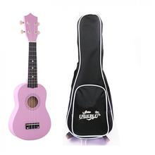 21 Inch Ukulele Hawaii 4 String Guitar Ukelele Beginner Children Kids Gifts + Bag Case + Electronic Tuner + Nylon Strings + Pick
