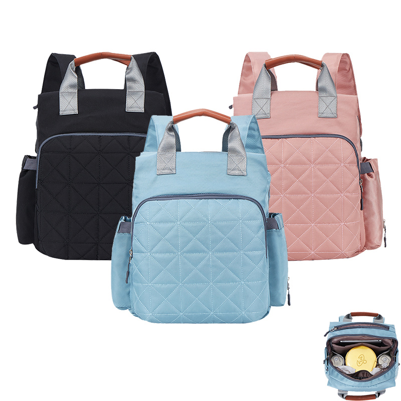 Hot Sale Mummy Maternity Diaper Bag Large Nursing Bag Travel Backpack Stroller Baby Bag Baby Care Nappy Backpack