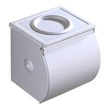 Алюминиевый Туалет водонепроницаемый с пепельницей туалетной бумаги коробка для салфеток для туалета держатель туалетной бумаги подставка для конусов производителей